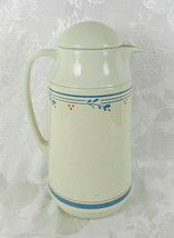 Crown Corning Thermique Carafe Thermos Pitcher Country Violets 1 Qt Hot ... - $11.87