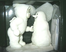 Why Don't You Talk to Me  SNOWBABIES Winter Tales Dept 56 Retired 1993 N... - $35.62