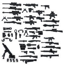 Custom Minifigures Military Army Guns Weapons Compatible w/ Lego Sets Mi... - $8.49