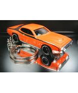 1971 Plymouth GTX Key Chain Ring Orange - $15.19