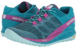 Merrell Antora Sz US 7 M EU 37.5 Women's Trail Running Shoes Capri Breeze J53100 - $75.19