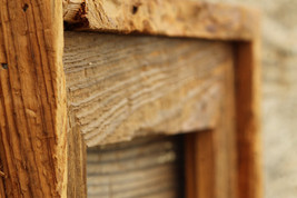 """The Post & Beam Natural 3.5"""" - Vintage Rustic Decor Reclaimed Wood Frame (All Si - $24.00"""
