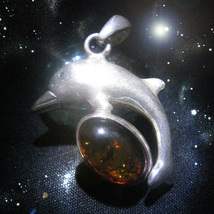 FREE W $49 Haunted NECKLACE ANIMAL COMMUNICATION MAGICK DOLPHIN WITCH Ca... - $0.00