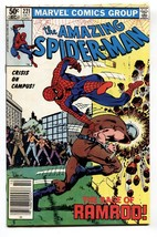 Amazing SPIDER-MAN #221-comic book-1981-MARVEL Vf - $20.18