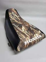 HONDA ATC250ES BIG RED Seat Cover in 2-TONE DRT Camo & Black  or 25 COLORS (ST) - $37.95