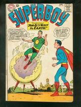 SUPERBOY #121 1965-KRYPTON JOR-EL VISITS EARTH-CLASSIC  VG - $31.53