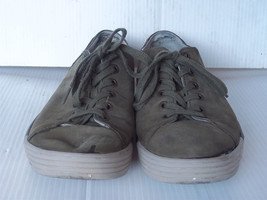 DR. MARTENS - Men's Gray Leather Casual Sneaker Shoes -- Size 11M US - $38.99
