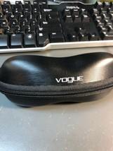Vogue Hard Zip Up Black Sunglasses Glasses Case - $10.00