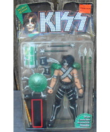 Two Kiss Action Figures McFarlane Toys 1997 Paul Stanley Peter Criss - $24.99