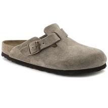 BIRKENSTOCK Mens Boston Suede Clog Sandal Taupe Size US 17 Euro 50 MSRP ... - $59.39