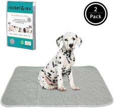 Rocket  Rex Washable Dog Pee Pads. Dog Training Pads, Waterproof, Reusab... - $22.59