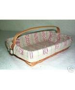 Longaberger 2002 Summertime Back Porch Basket Cotton Fabric OE Liner Only - $8.86