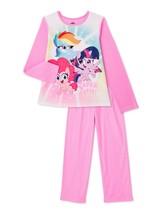My little pony basic fleece pajamas girl size 4-5, 6-6x, 7-8 or 10-12 - $12.83