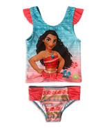 Disney Moana Baby Toddler Girl Tankini 2 Pc Set Swimsuit 12 Months - $19.99