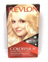 Revlon ColorSilk Permanent Hair Color #95 Light Sun Blonde 100% GRAY Cov... - $11.35