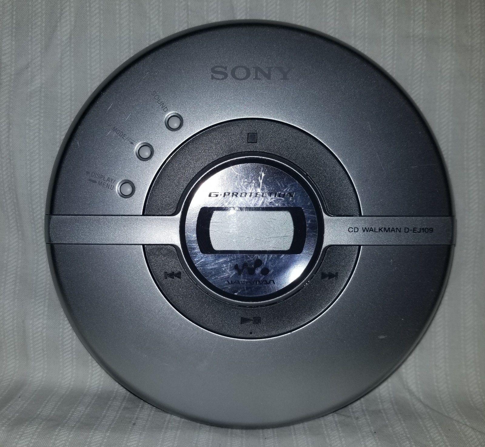 sony cd walkman D-EJ109