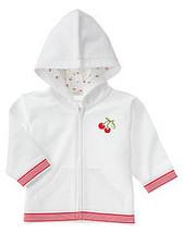 Good Old Days Gymboree NWT Cherry Hoodie Jacket 6- 12 mos. - $11.49