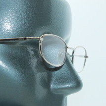 Reading Glasses Gold Metal Petite Rectangle Frame +1.25 Lens - $14.97