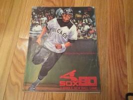 1980 Chicago White Sox Scorebook Program Souvenir Magazine MLB Baseball - $8.99