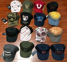 Wholesale Lot True Religion Men's Premium Adjustable Baseball Trucker Hat image 3