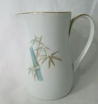 Vintage Noritake China Hourglass Cream Pitcher Jug Oriental Pattern 1962-78 - $20.00