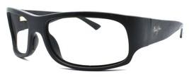 Maui Jim MJ-222-2M Longboard Sunglasses Matte Black Wraparound FRAME ONLY - $34.35