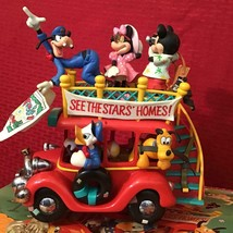 Mickey Mouse Disney Toon Town Collectible Musical Mechanical Car - $49.99