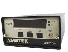 AMETEK 6000-AA-C CONTROLLER 6000AAC SERIES 6000