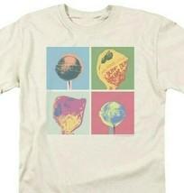 Dum-Dums T-shirt Pop Art retro candy classic brands lollipop tee DUM114 Tan image 1