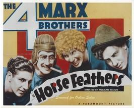 Marx Bros Horse Feathers Groucho Harpo Chico Zeppo 8x10 Photo - $9.99
