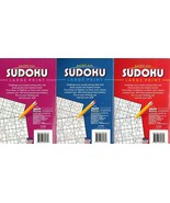 Large Print Pocket Size Sudoku Puzzles - Over 100 Challenging Puzzles - ... - $15.79