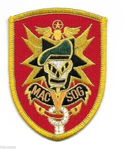 ARMY SPECIAL FORCES MACV SOG VIETNAM EMBROIDERED PATCH - $15.33
