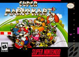 Super Mario Kart SNES SUPER NINTENDO Video Game - $28.33