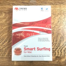 Trend Micro Smart Surfing for Mac Online Data Protection Software DVD/CD  - $9.88