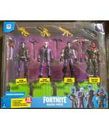 """Fortnite Squad Mode """"Dark Legends"""" Action Figure 4-Pack W/ Raptor Glow - $23.99"""