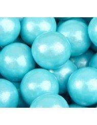 Powder Blue Shimmer 1 Gumballs, 2LBS by Oak Leaf
