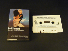Blondes Have More Fun by Rod Stewart (Cassette, 1978) - $5.35