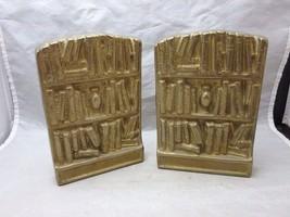 Vintage brass book ends. Library book shelves - $12.99