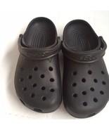 Crocs Unisex Black Classic Roomy Baya Clogs Heel Strap Size W 6-7 M 4-5 Mint - $23.04