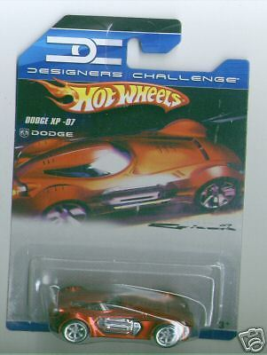 Hot Wheels 2008 Designers Challenge Dodge XP-07 Red
