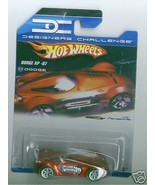 Hot Wheels 2008 Designers Challenge Dodge XP-07 Red - $5.93