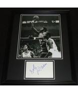 Bob McAdoo Signed Framed 11x14 Photo Display Braves - $69.76