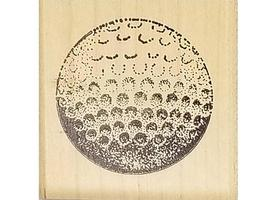 Rubber Stamps of America Single Golf Ball Rubber Stamp