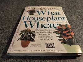 WHAT HOUSEPLANT WHERE BOOK - $9.99