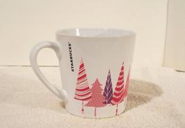 2017 Starbucks Christmas Trees Coffee Cup Mug 14.2 Oz - $14.50
