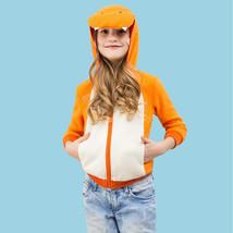 Kid's Hoodie Kigurumi Pajamas Dinosaur Onesie Pajamas Polar Fleece Orang... - $13.00