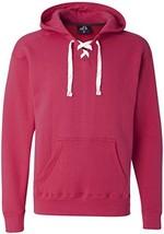 Wildberry Hockey Hood Sweatshirt: 80% Ringspun Cotton, 20% Polyester Fle... - $34.69