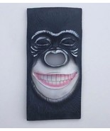 African Silverback Gorilla Ape Wall Hanging Figurine Home Decor Plaque NEW - $19.79