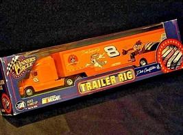 NASCAR Dale Earnhardt Jr. #8 Trailer Rig Die-Cast Collector Orange AA19-NC8003 image 1