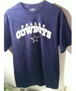 DALLAS COWBOYS--MENS TSHIRT--SIZE M--TEAM APPAREL--NFL--SHIPS FREE--VGC - $10.76